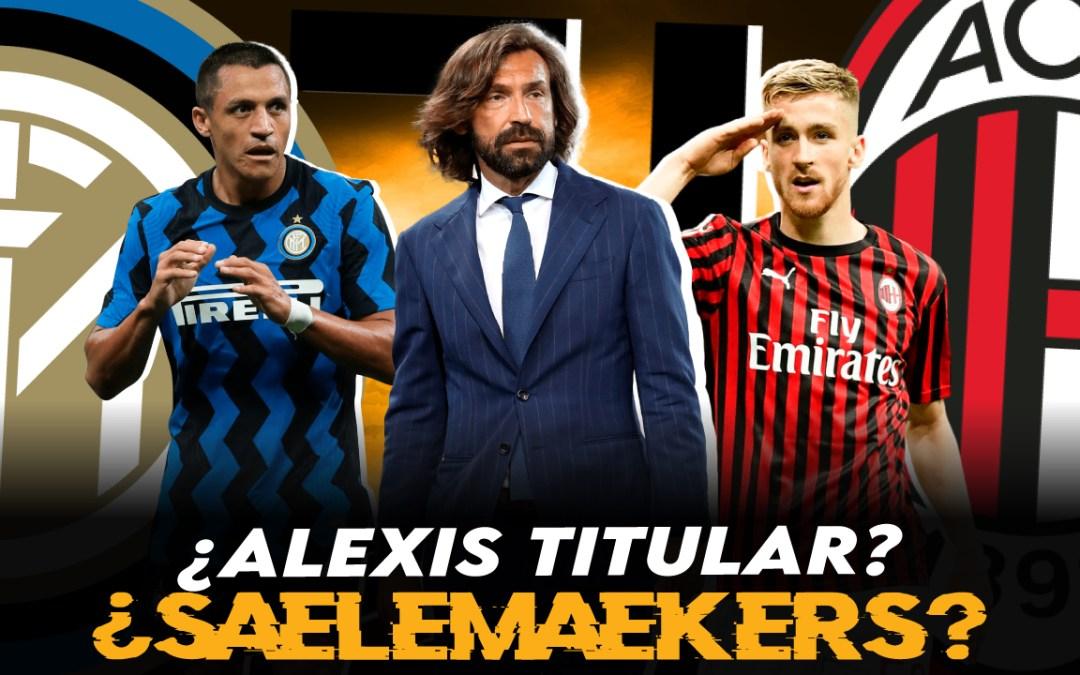 ¿Debe ser Alexis Sánchez titular en el Inter de Conte?