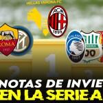 Las notas de la primera vuelta en la Serie A 2020/21