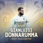 Donnarumma, elegido mejor portero de la Serie A