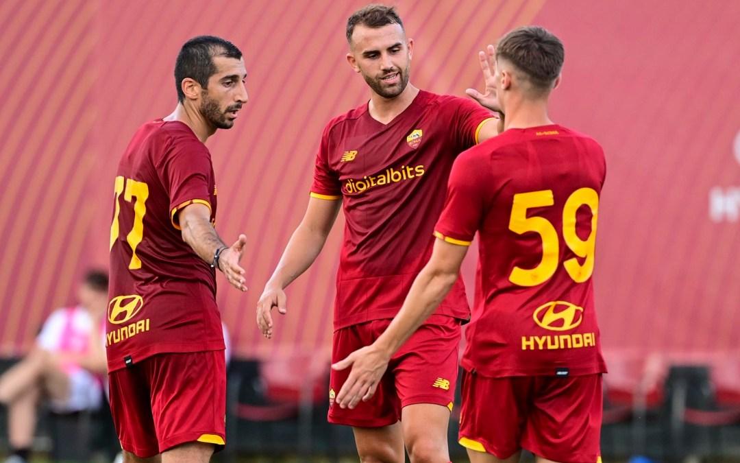 La Roma de Mourinho comienza su pretemporada con victoria