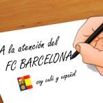 Como Culé y Español, es hora de que nos oigan…