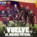 Trofeo Joan Gamper. FC Barcelona – AS Roma: El tricampeón vuelve a casa