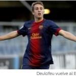 El Barça anuncia la opción de recompra de Deulofeu