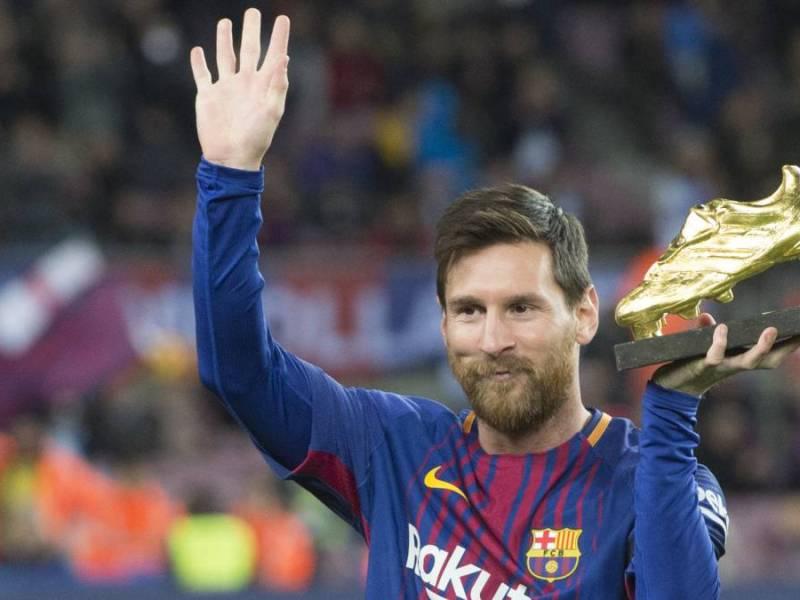 Messi ya tiene su sexta Bota de Oro