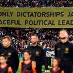 «La pancarta del Camp Nou diciendo que España es una dictadura es una vergüenza»
