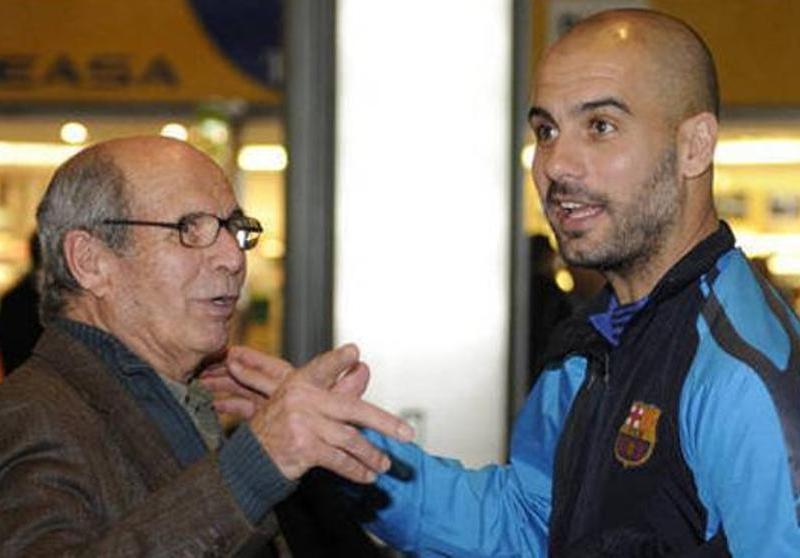 El padre de Guardiola: «Puede ser que algún día vuelva al Barça»