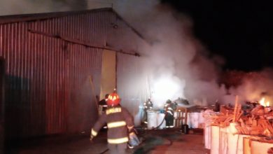 Photo of BODEGA INDUSTRIAL RESULTÓ DAÑADA TRAS INCENDIO EN RUTA 5 SUR