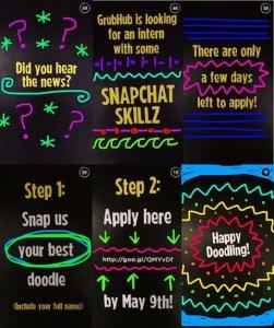 Snapchat oferta