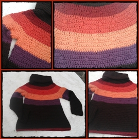 sweter laura ortubia
