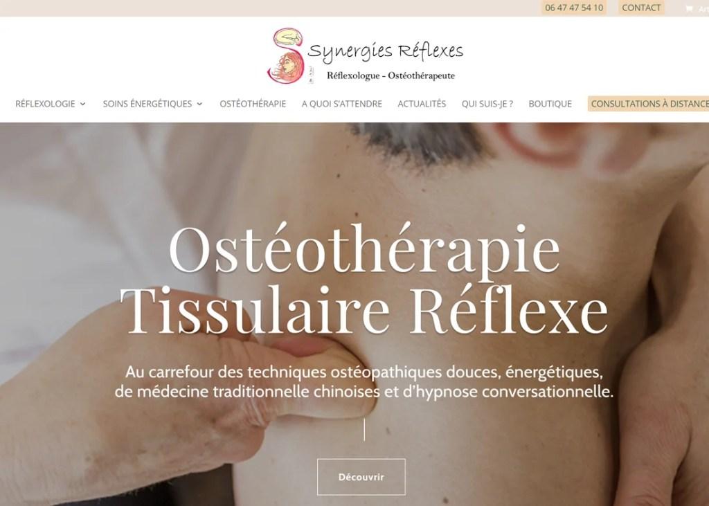 Synergies Reflexes ostéothéraphie quimper
