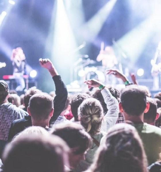 personas que van a conciertos