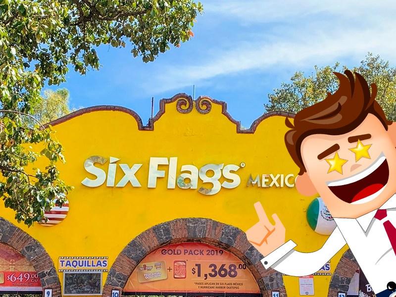 Atención 'godínez', Six Flags se prepara para su reapertura