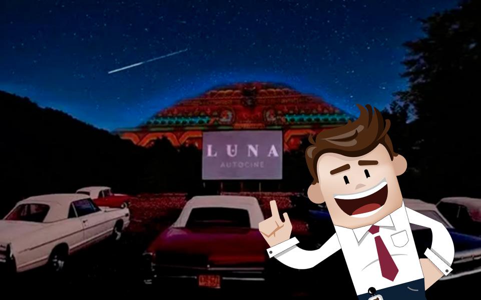 LUNA Autocine ¡Un nuevo autocinema en las Pirámides de Teotihuacán!