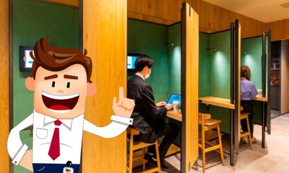 Abren cafe con concepto de oficina y cafeteria para Godinez