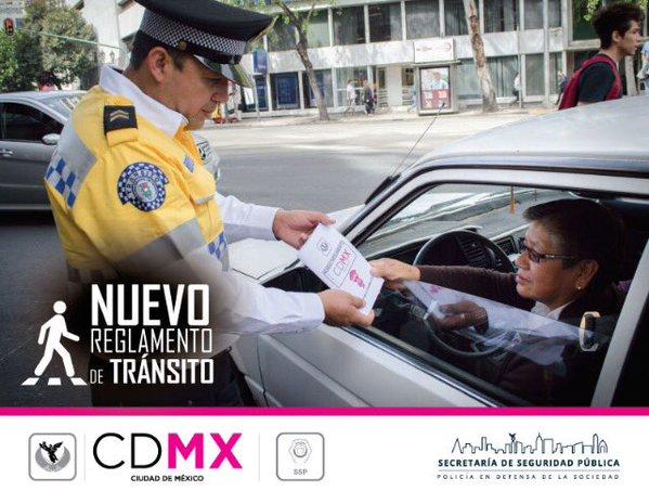 Las multas de tránsito la #CDMX