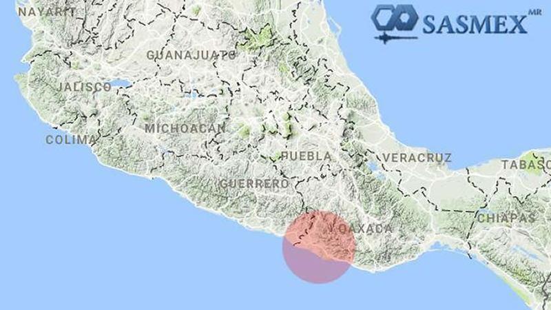 Se registra sismo de 7.2 grados en el sur de México; sin daños por el momento