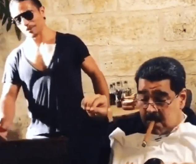 Critican a Nicolás Maduro por comer en un lujoso restaurante en Turquía
