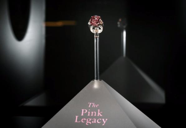 Diamante rosa único es vendido por 50 millones de dólares 💍