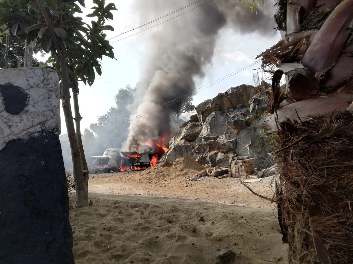 Pipa de gas explota y se incendia en depósito en Milpa Alta; hay 6 lesionados