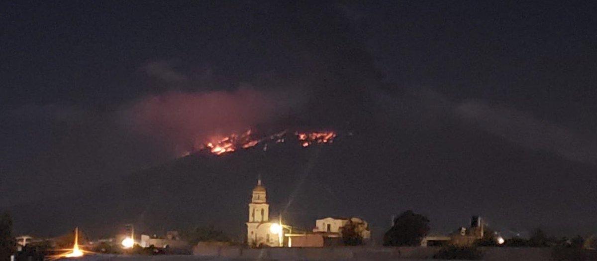 Las imágenes tras la fuerte explosión del Popocatépetl
