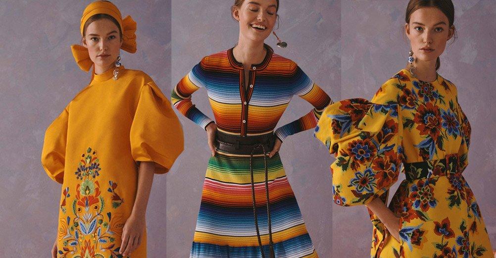 ¿Plagio de diseños de comunidades indígenas en la nueva colección de Carolina Herrera?