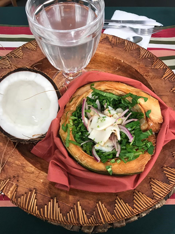Disfruta de un rico 'Ceviche de Coco' con esta receta
