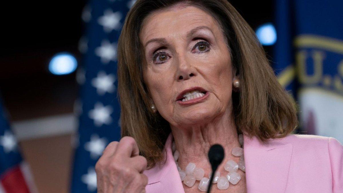 Nancy Pelosi pide redactar los artículos del 'impeachment' contra Trump