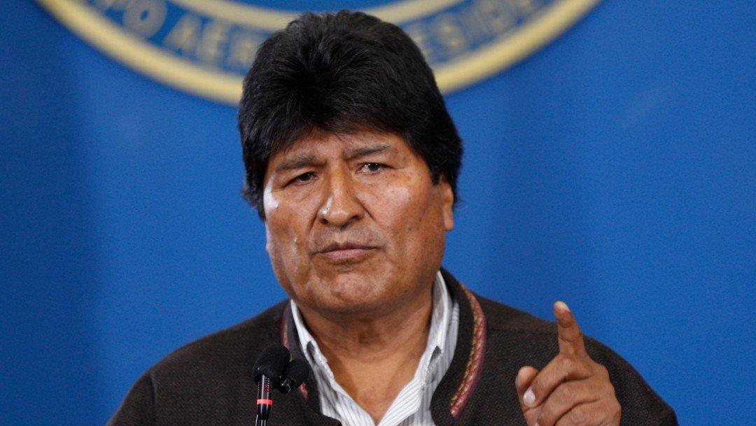 #EnVivo Evo Morales llega a México
