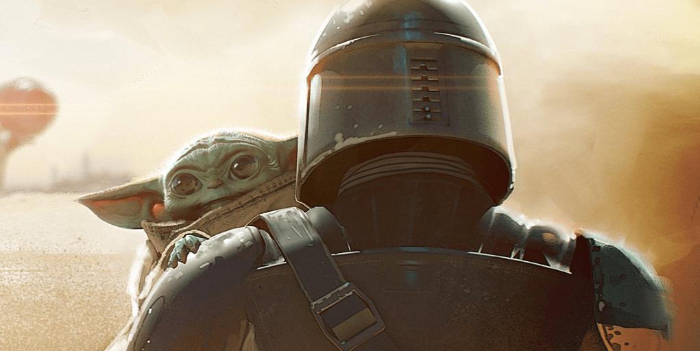 La foto de George Lucas sujetando a Baby Yoda