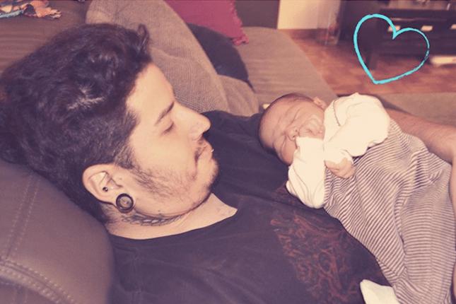 La importancia de la presencia del papá para el buen descanso del bebé