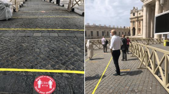 Reabre la basílica de San Pedro del Vaticano tras dos meses de cierre