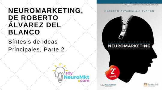 Neuromarketing, de Roberto Álvarez del Blanco. Síntesis, Parte 2