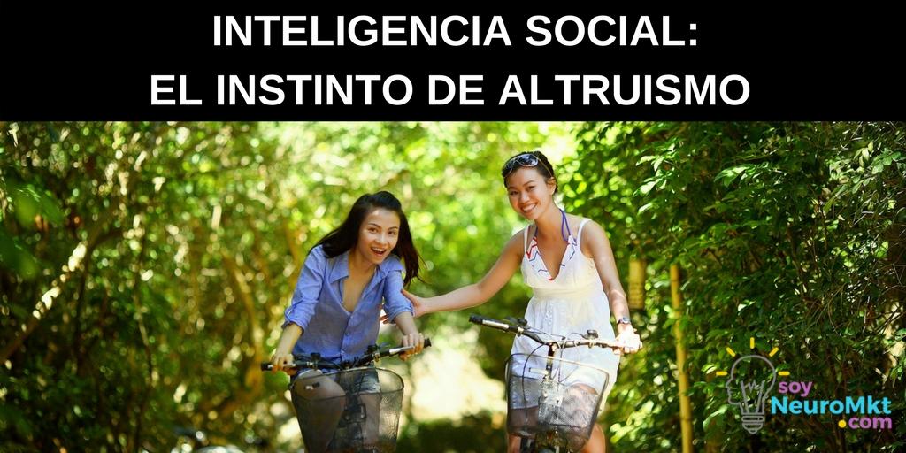 Inteligencia Social, de Daniel Goleman. Notas Sobre el Libro: El Instinto de Altruismo