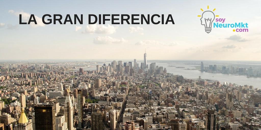 La Gran Diferencia, Socialismo y Capitalismo