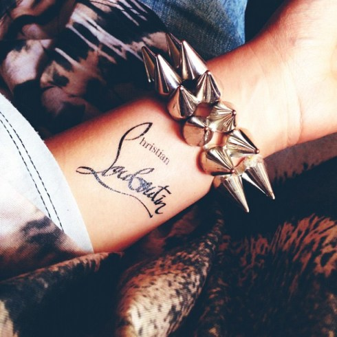 Louboutin Tatoo