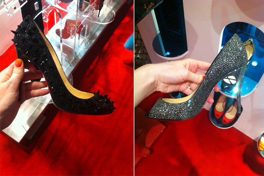 escarpins louboutin confortable