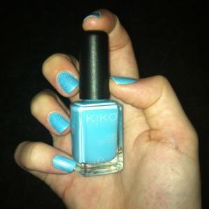 Kiko Light Blue Sephora Night Spirit Stamping