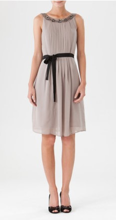 Robe Paquerette taupe 1.2.3