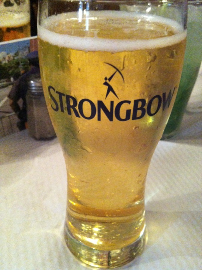 Joe Allen restaurant Strongbow