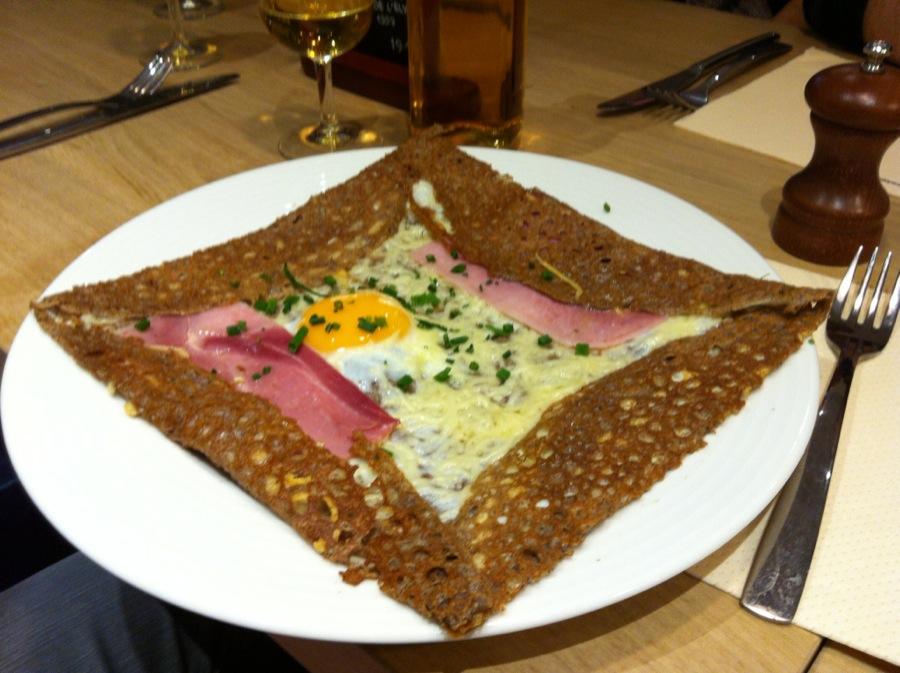 Galette Café Complète