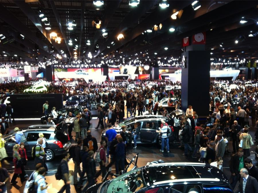 Salon de l'automobile 2012