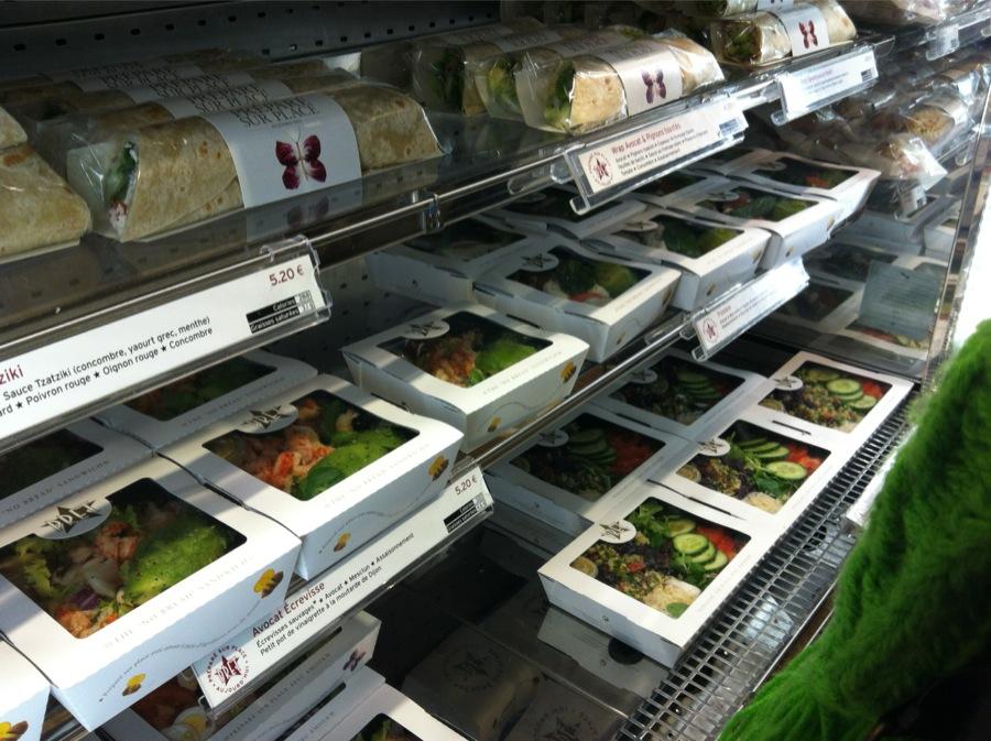 Pret A Manger So Ouest salades sandwich avis