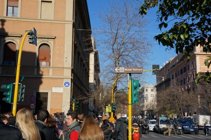 Invader street art Vatican Rome