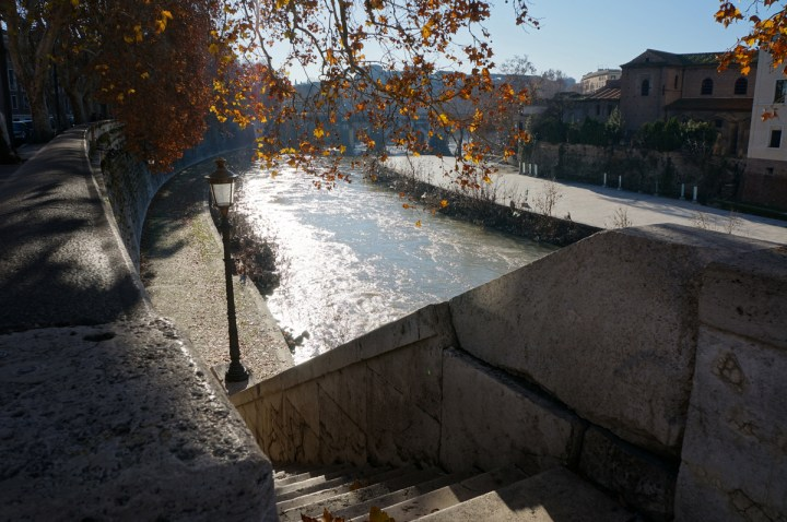 Rives du Tibre Rome