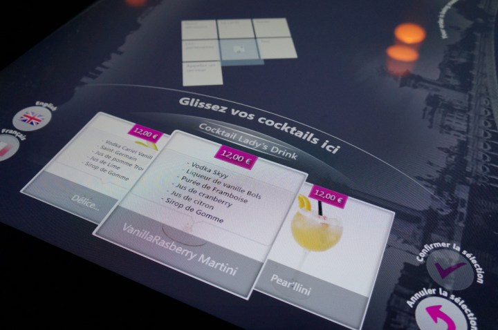 Bar Touch in Paris avis carte