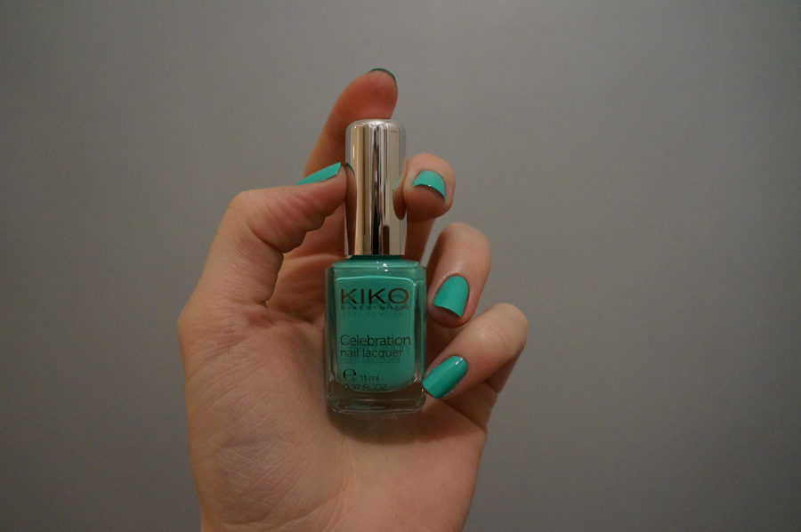 Kiko 422 Mint Green swatch