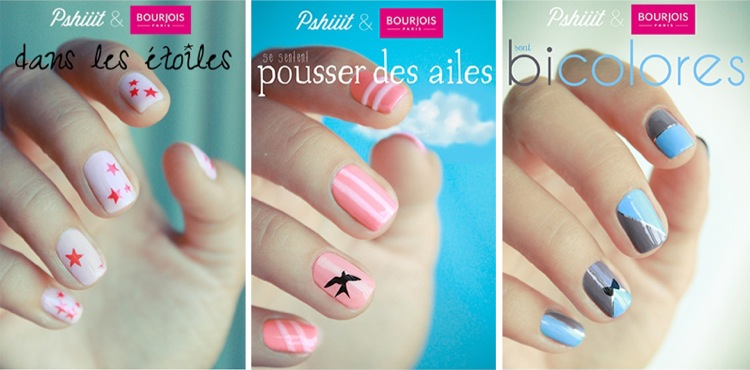 Manucures bourjois & pshiiit kit