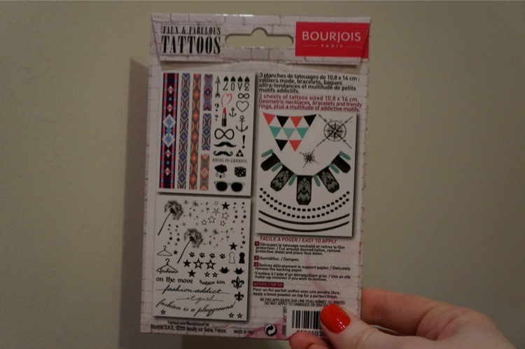 Tatouage bourjois paris tattoo