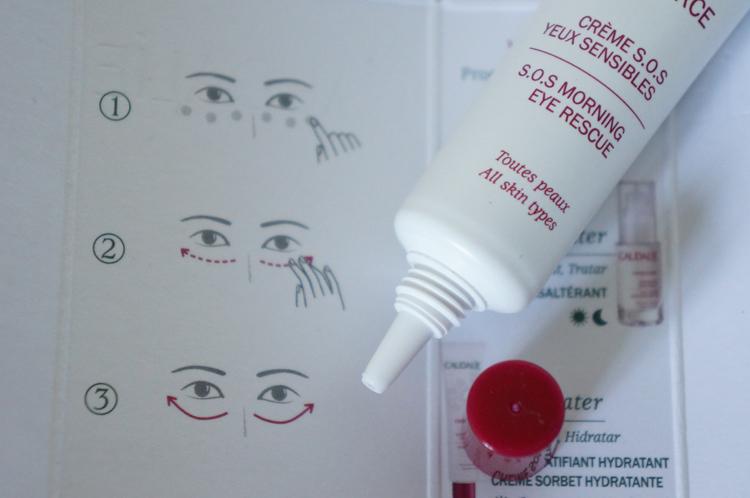 Crème SOS yeux sensibles Caudalie test avis