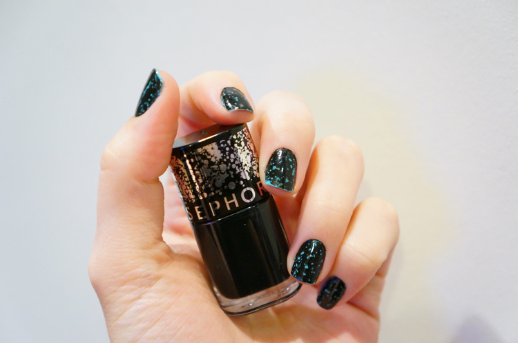 Swatch Top coat artypois spotted Sephora